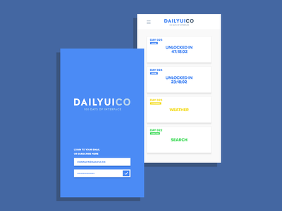 #DailyUI App Concept experience¨ interface¨ ¨user ux mobile app ui¨ ¨daily ui daily