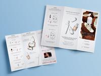 Beauty Product Teach Inspire Play Brochure Trifold