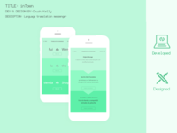 Intown | Translation & Language Learning App