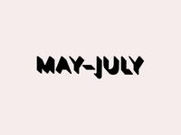 Ld May–July
