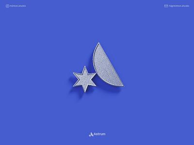 Astrum / Logo Concept star a letter logo a logo