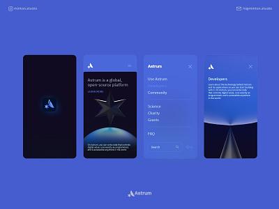 Astrum / App sketch concept star app design astrum