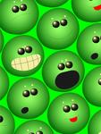 Green Emotional Balls