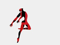 "Poster Collection Suprematism ""Dance""- BOUNCE"