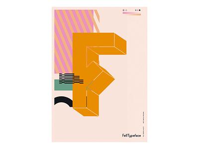 Fell Typeface — Candy Glitch. glitch type design typeface type digital art art