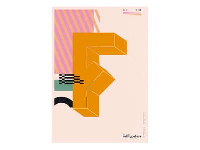 Fell Typeface — Candy Glitch.