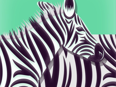African Animal Illustrations vectorart vector print illustration art animal art kenya south africa safari animals safari elephants elephant hippo zebra cheetah lion jungle animal african africa