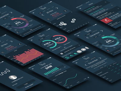 Save Energy With Ynni graphs ynni tool interface sketch android ios saving energy ui app