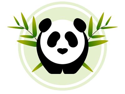Panda Logo logo panda day3 dailylogochallenge dailylogo vector