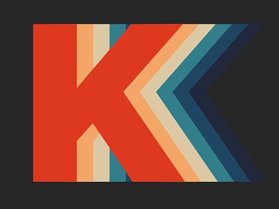 Single Letter Logo day4 letter k logo dailylogochallenge dailylogo vector