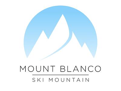 Ski Mountain mountain ski day 8 logo dailylogochallenge dailylogo vector