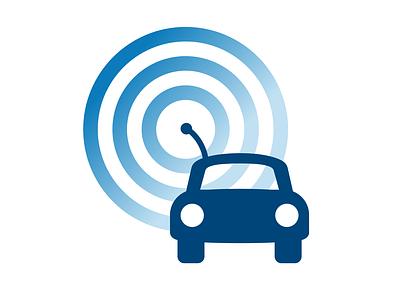 Self Driving Car Dribbble day 5 car self-driving logo dailylogochallenge dailylogo vector