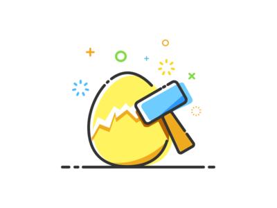 MBE Style Icon - Smashing golden eggs icon mbe schiy