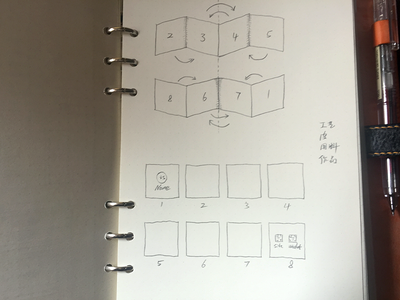 Foldout - sketch foldout