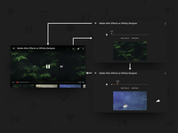 Share Video Fragment YouTube Concept