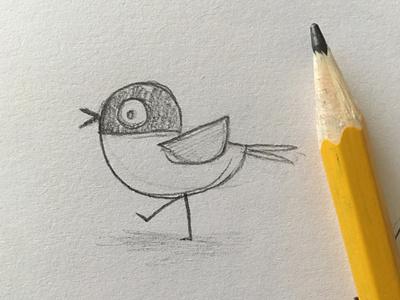 Nali sketch drawing cute birds characters character design album artwork sketch bird