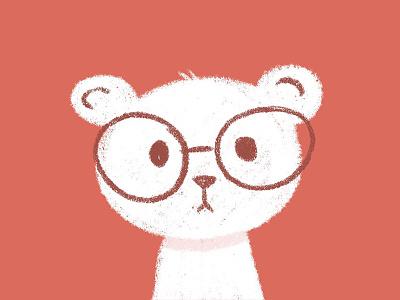 bespectacled bear kids book procreate art character children childrens book illustration illustration art illustration childrens illustration procreate sketch bear