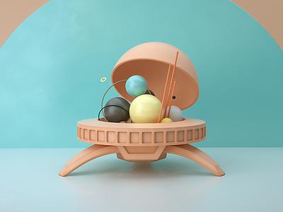 Planetario - CMD cgi c4d 3d