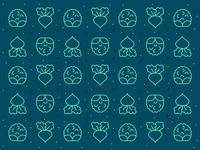 Veggie pattern #2