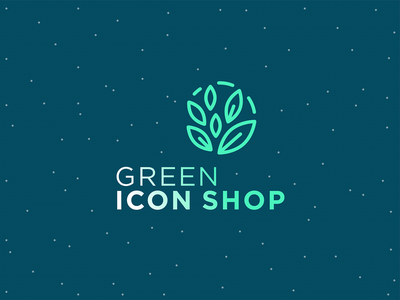 Green Icon Shop branding healthy icons vegan biodegradable food icons organic icons icons for saving the planet good design healthy lifestyle bio icons eco icons sustainable icons
