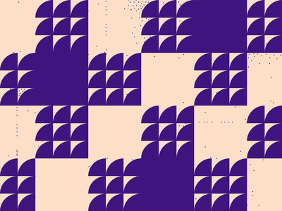 Pattern #18 - Textile textile pattern small dots purple motion minimal illustration geometric pattern flat dynamic pattern square pattern shape pattern abstract