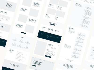 Greybox Wireframes hierarchy flows typography layout greybox user experience ux ia architecture wireframes