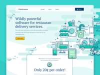 Restaurant Delivery CMS