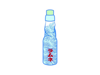 Ramune Pin and Packaging
