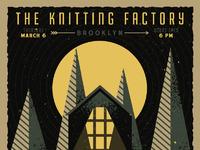 Knitting drib
