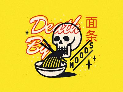 Noodz vin conti pho eating grim death skull noodles