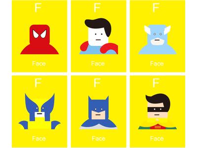 F. Face