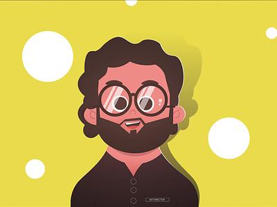Nerdy Me motion graphics characterdesign illustration illustrator flat vector character