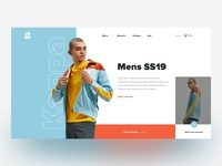 URBN - Online store concept
