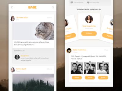 #Concept - Social Feature
