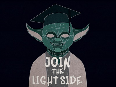 Polish high school is looking for some new students! star wars light side advertisement school yoda