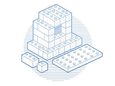 Let me put it all together!  lego simple blocks bricks computer
