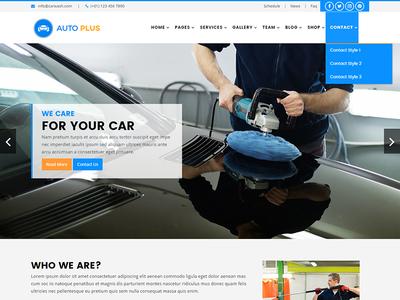Auto Plus – Car Wash and Car Repair Template repair mechanic cleaning car wash car service car repair car booking auto wash auto detailing auto detail auto