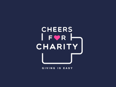 Cheers for Charity - Logo logo design