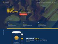 Sendgold homepage