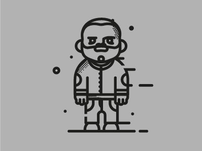 front test line stroke cartoon draw illustration graphic design test character