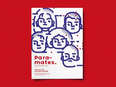 design ep for paramates  rafasanemeterio lyrics records music paramates characters cartoon illustration design jazz