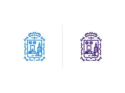 Santander Concept Brand cantabria santander crown shield design brand identity corporate logo brand