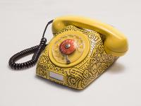 Vintage Phone + Posca