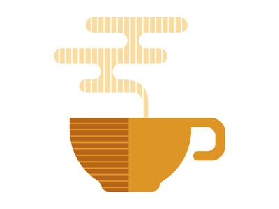 Coffee illustration icons iconography cup coffee