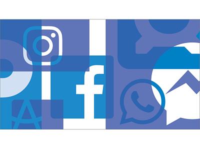 Facebook Pattern 2B facebook illustration pattern