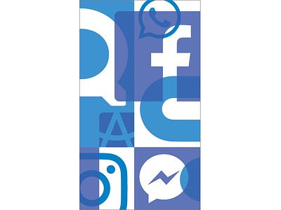 Facebook Pattern 2A facebook illustration pattern