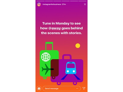 Instagram for Business - Stories Campaign