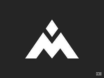 AM Symbol Mark brand logo mark symbol logodesigner logodesigns logo designs simple minimal modern m a