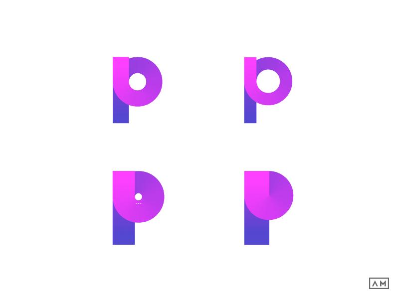 P Logo Design Symbol Mark Icon By Alexandru Molnar Dribbble