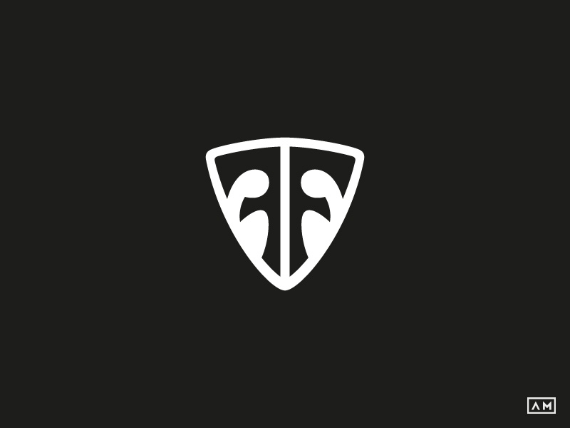Foo Fighters Ff Monogram Logo Icon Symbol Mark By Alexandru Molnar